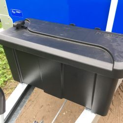 Draw Bar Storage Box