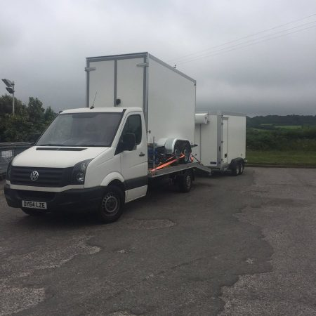 Refrigerated trailer hire delivery