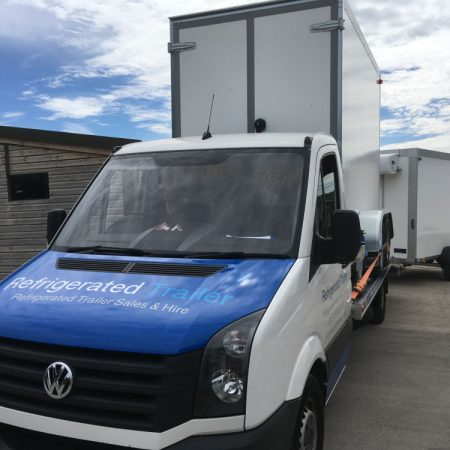 Refrigerated Trailer Deliveries