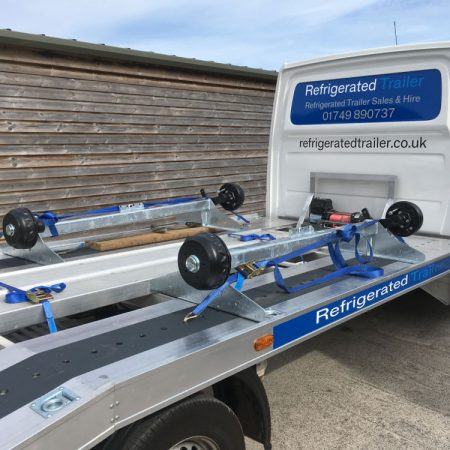 Refrigerated Trailer Beaver tail