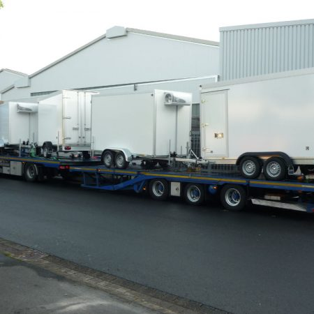 Refrigerated trailer delivery