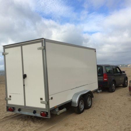 Refrigerated Trailer Beach