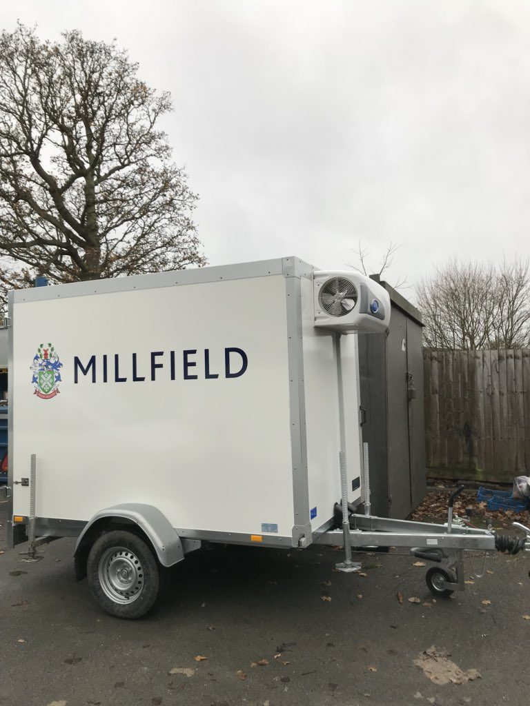 Trailer Wrapping Millfield